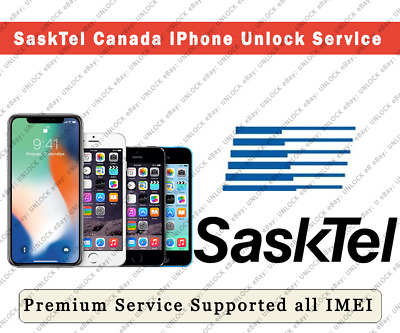 """Unlock Sasktel Canada iPhone Xs Max/Xs/Xr/X/ etc. """"PREMIUM"""" Supported All IMEIs"""