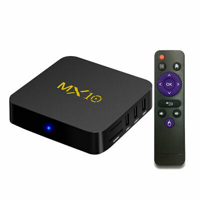 NEW 4+32G Android 9.0 Pie Smart TV BOX Quad Core WIFI 4K 3D Media Player K9B4G