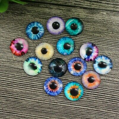 20pcs Realistic DIY Eyes Mixed Color DIY Animal Eyes Accessory for Kids Dolls
