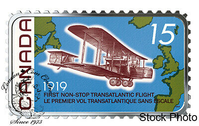 Canada: 2019 $20 100th Ann. of the First Non-Stop Transatlantic Flight Coin