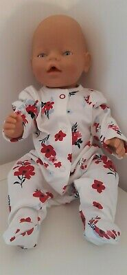 Sleep Suit to fit 16-18 inch dolls. Baby Born / Baby Annabell / Chou Chou