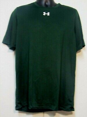 Under Armour Men's T-Shirts (Nwt) Green, Loose Fit, Heat Gear