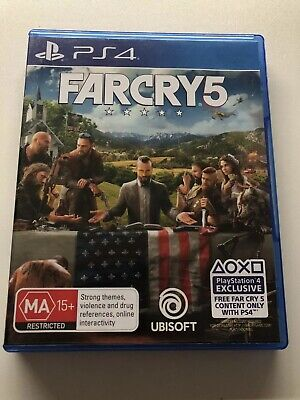 Sony PlayStation 4 (PS4) Game - FAR CRY 5