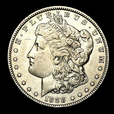 1888 O ~**NICE GRADE**~ Silver Morgan Dollar Rare US Old Antique Coin! #R40