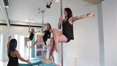 1 X Group Class Credit Voucher At Elements Studio - Ashford - Pole Hoop Silks