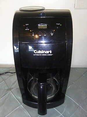 Cuisinart 10 Cup Automatic Grind & Brew Coffeemaker DGB-475