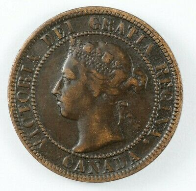 1896 Canada Queen Victoria 1 One Large Cent