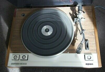 vintage record player  APAN  series 5000