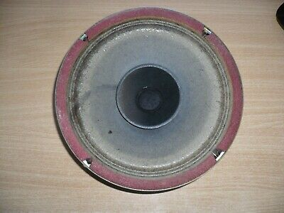 "Vintage Magnavox Red Series 8"" Twin Cone Speaker - Excellent Condition"