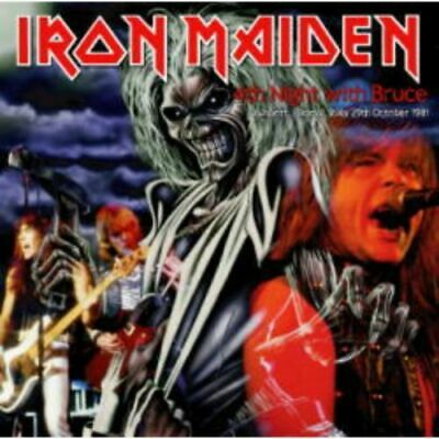 NEW IRON MAIDEN 4TH NIGHT WITH BRUCE 1CDR(WHITE LABEL)#Ke