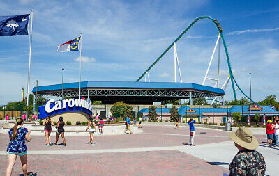 (4) Four Tickets to Carowinds / Fast Shipping / Low Price