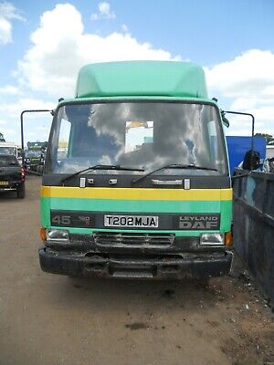 DAF 45.160Ti 1999 6 SPEED MANUAL ON STEEL MANUAL PUMP CHOICE OF BODY TIDY EXPORT