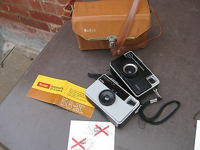 Vintage Kodak Camera – Instamatic Camera 56X and Instamatic 28 also with origina
