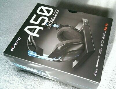 Wireless 7.1 Gaming Headset for use with PS4 or PC - ASTRO A50 - NEW & SEALED!!