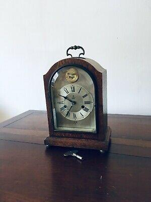 Vintage Smiths of Enfield Striking Mantle Clock. No Reserve!