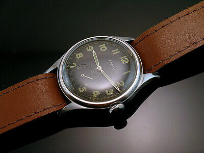 ZENITH DH , VERY RARE MILITARY WRISTWATCHES for GERMAN ARMY, WEHRMACHT of WWII
