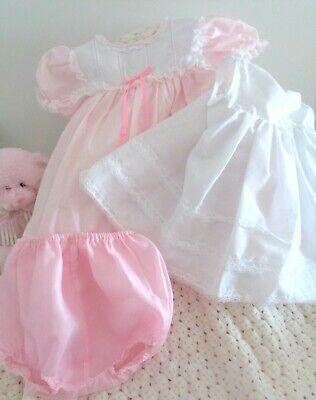 Pretty Reborn Doll 3 Piece Set - Includes Dress, Petticoat And Pants