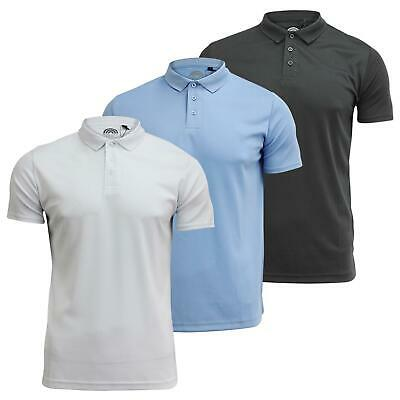 Mens Sports Polo T Shirt Brave 'Champ' Soul Collared Short Sleeve Net Top S - XL