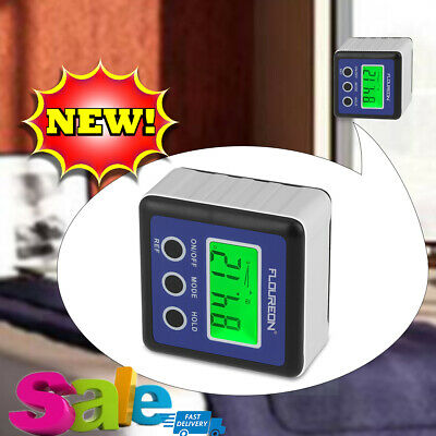 Digital Bevel Box Gauge LCD Angle Cube Protractor Gauge Electronic Angle Finder