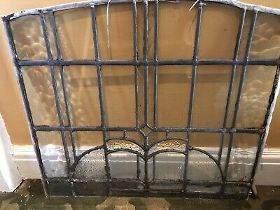Vintage (Circa 1900) leaded Glass Window Panels Ideal For Glass Artists
