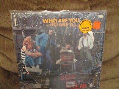 """The Who """"Who Are You""""  12"""" picture disc LP"""