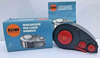 Rowi Film Loader 140 Filmladegerat Bobineuse with Instructions and Original Box