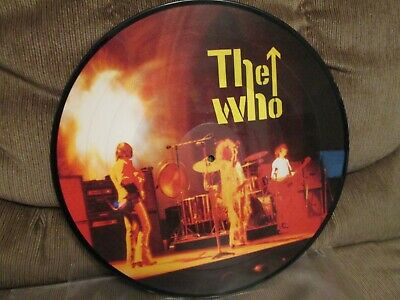 """The Who """"Who Rocks Harder?""""  12"""" picture disc"""