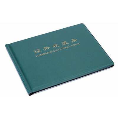 240 Grid Coin Album Holders Collecting Collection Book Penny Storage Case Folder