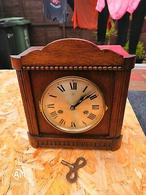 Antique H.A.C Clock Wurttemberg Germany, in good working order