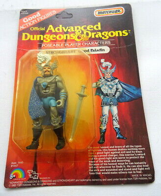 Vintage 1983 Strongheart TSR Advanced Dungeons & Dragons LJN Figure MOC