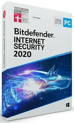 Bitdefender Internet Security 2019 MultiDevice -[6 Monate / 180 Tage / 3 Geräte]