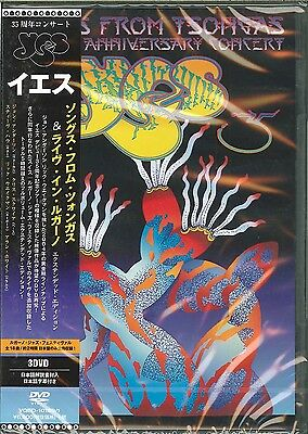 Yes-Songs From Tsongas-Japan 3 DVD O75 SD De