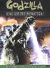 Godzilla, King of the Monsters (DVD, 2001)(b5)