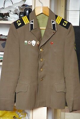 Soviet Union USSR Russian Army CCCP RUSSIA MILITARY Soldier Uniform Jacket