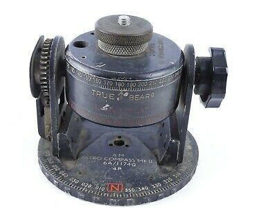 Antique World War 2 Air Ministry Astro Compass Mkii 6A/11740 O42