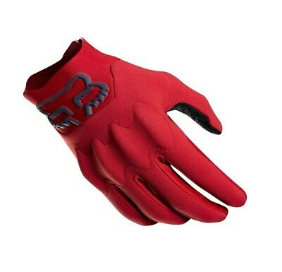 2019 Fox Attack Fire Cold Weather Motocross MX Enduro Gloves Red