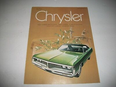 1980 CHRYSLER BROCHURE Fifth Avenue New Yorker Newport 5th