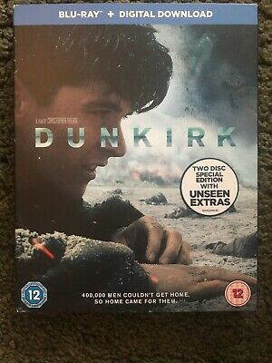 DUNKIRK Blu-ray Two Disc Special Edition Unseen Extras