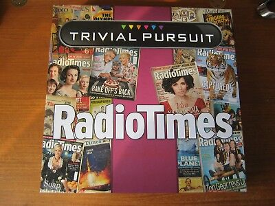 Trivial Pursuit Radio Times Edition By Hasbro 8+Yrs Family Board Game