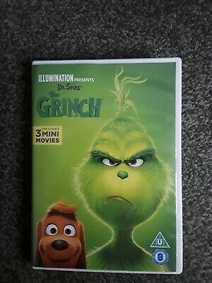 The Grinch DVD 2018