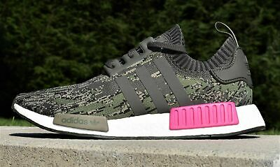 100%AUTH. ADIDAS NMD R1 Camo Sneaker Sz 42 23 New EUR 89