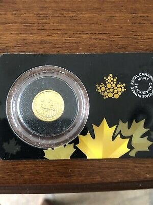 2016 Canadian 1/10oz Gold $20 Growling Cougar .99999 Fine in Assay