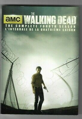 Sealed New DVD - TV Series - THE WALKING DEAD Season 4 Also In French WITH COVER
