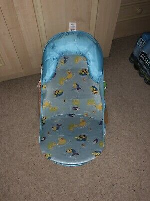 Summer Infant Deluxe Travel Baby Bather Bath Support Seat Beach Chair NEW