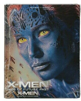 Sealed Blu-Ray + Digital - X-MEN DAYS OF FUTURE PASSED - Also In French