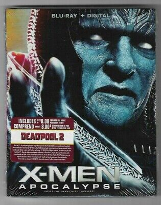 Sealed Blu-Ray + Digital - X-MEN APOCALYPSE - Also In French