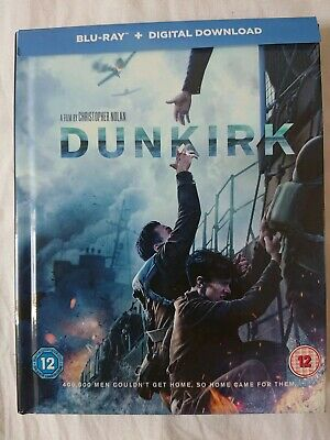 Dunkirk - Limited Edition Filmbook Blu-ray (Includes UV Copy) NEW [2017]