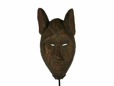 Nigerian Igbo Mask African Carved Tribal Wood Mask, Africain Arte Africana