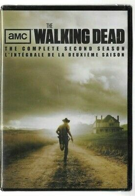 Sealed DVD - THE WALKING DEAD Season 2   - Also In French