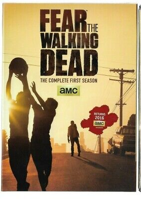 Sealed DVD - AMC FEAR THE WALKING DEAD Season  1  - Also In French